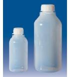 бутылка узкогорлая градуированная 500 мл, п/эт, LAMAPLAST
