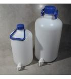 бутыль с краном, с завинчивающейся крышкой и ручкой, 5 л, Aptaca ПЭВД