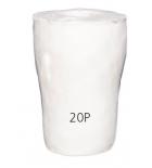 Пробка целлюлозная № 20P стерилизуемая (D19-22,5мм)