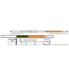 Индикаторная трубка (ИТ) эфир диэтиловый 2-60 г/м3