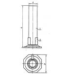цилиндр для ареометров 1-67/335