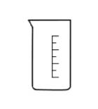 стакан высокий В-1-10 химически стойкое стекло