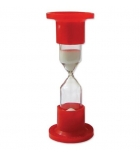 Часы песочные 1 мин стеклянные