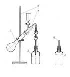 аппарат дистилляционный для определения мышьяка